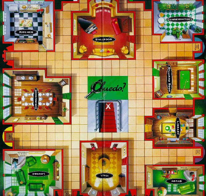 Cluedo Map